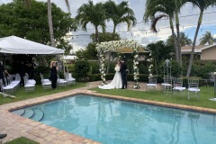 We can Live Stream Your Wedding even from your backyard